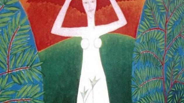 Jedno z děl malířky Věry Kovářové z Rejchartic u Šumperku.