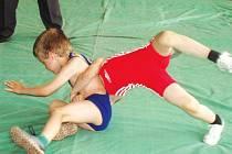 Mladí zápasníci Krnova se činili.