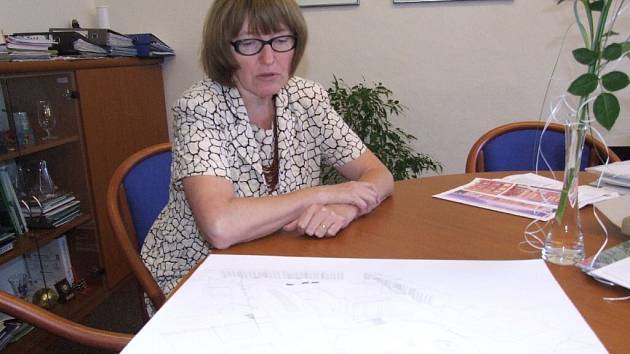 Vrbenská starostka Helena Kudelová.