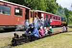 Po devíti letech byl na trati z Bruntálu do Malé Morávky obnoven letní víkendový provoz.