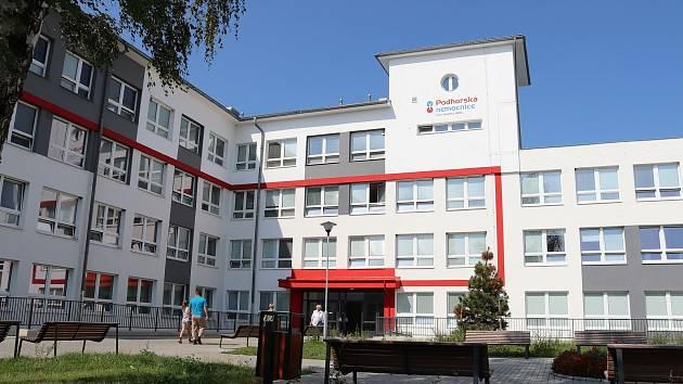 Podhorská nemocnice Bruntál.