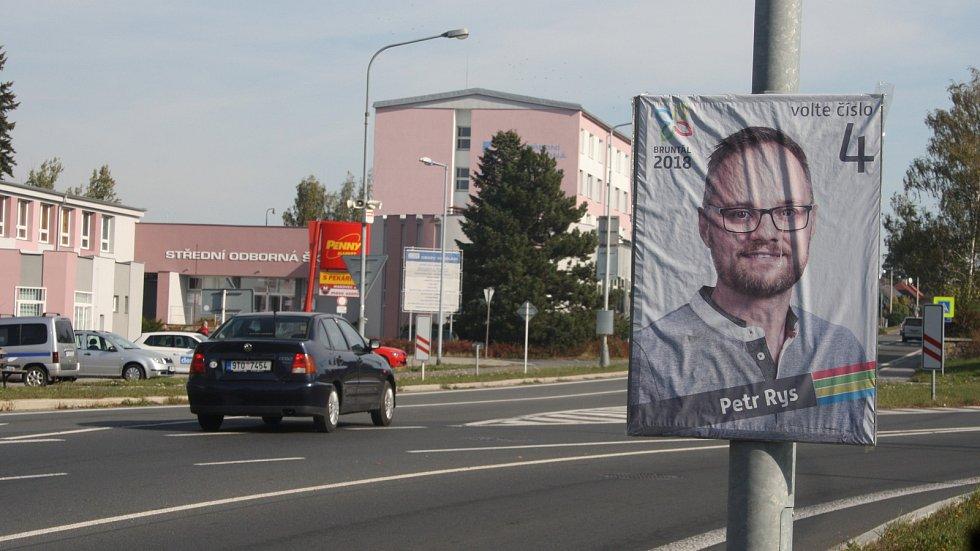 Starosta Bruntálu Petr Rys má důvod k radosti. Jeho kandidátka BRUNTÁL 2018 získala 32 procent hlasů.