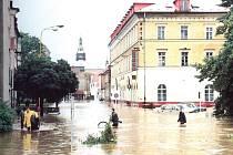 Katastrofické povodně v roce 1997.
