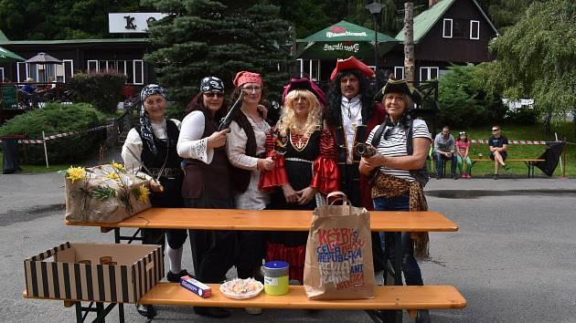 Tradiční Dlouhá noc letos proběhla v pirátském stylu. Pořadatel Spolek Přátelé Vrbenska (SPV) pořádal oblíbenou akci ve spolupráci sobcí Ludvíkov již po jedenácté.