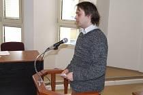 Svatopluk Oravec se u soudu přiznal k loupeži.