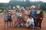 Divoký západ se stal námětem letošního mezinárodního turnaje Praděd cup, pořádaného už pojedenácté v řadě v rámci Léta tenisu Vrbno 2010.