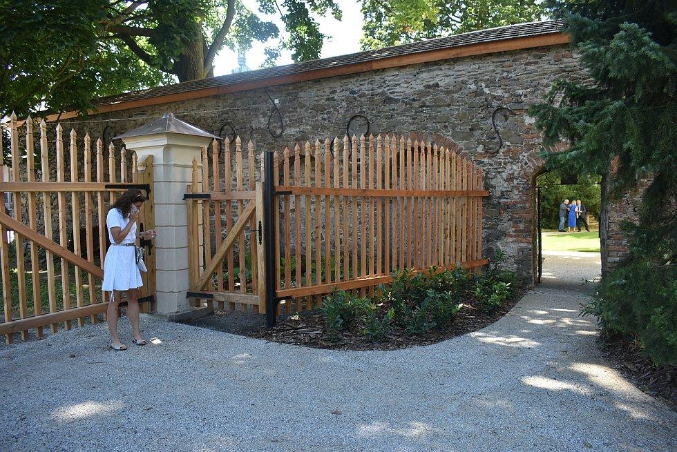 Zámek v Bruntálu, červenec 2021.