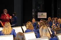 Jarní koncert Dechového orchrestru mladých.