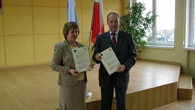 Brygida Pytel a Václav Kalda.