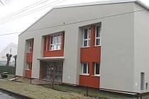 Sportovní hala v Nerudově ulici v Horním Benešově.
