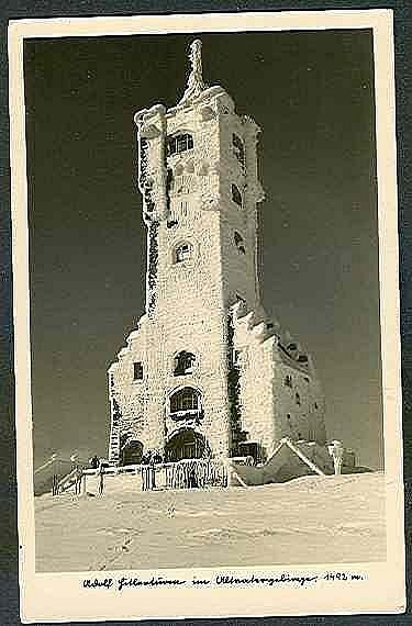 Věž na Pradědu.