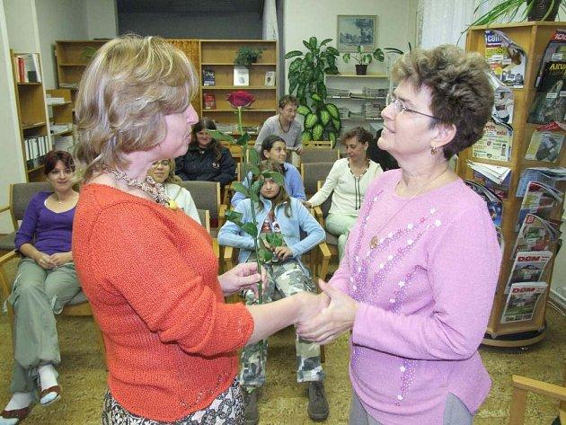 Věra Řeháčková v Bruntále(vpravo).