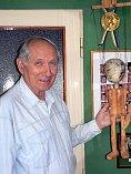 Jaroslav Janiš, zakladatel souboru Krnováček, patří ve svém oboru ke špičce. V roce 1978 získal nejvyšší československé loutkářské ocenění a stal se nositelem odznaku národního umělce Josefa Skupy. Foto: Jiří Krušina