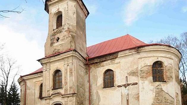 Poutní kostel sv. Anny v Andělské Hoře.