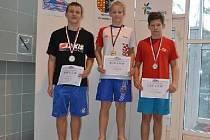 Plavec Slavoje Bruntál Roman Procházka (vpravo) patří do republikové špičky.