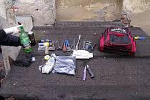 Zlodějský vercajk a 4,20 promile v těle měl ziskuchtivec, který kradl barevné kovy v areálu bruntálské nemocnice.