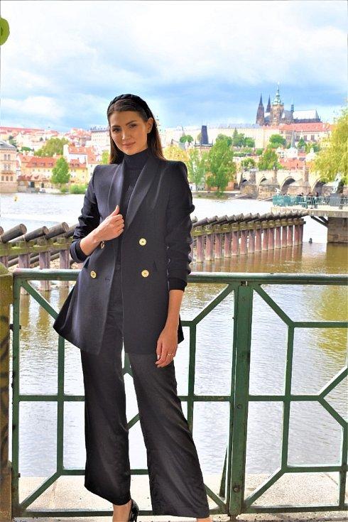 Karolína Kopíncová z Vrbna pod Pradědem, Miss Czech Republic 2020.