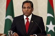 Maledivský prezident Muhammad Vahíd Hasan.