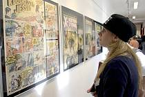 Výstava filmových plakátů Káji Saudka v děčínském muzeu