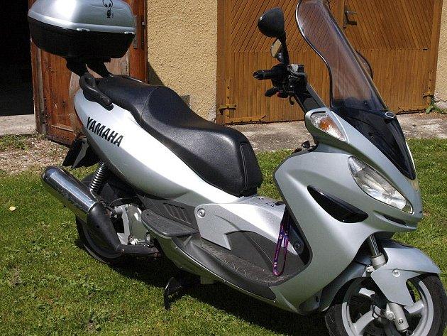 Odcizená motorka