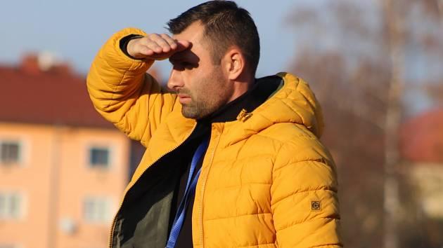 DAVID OULEHLA, trenér FK Varnsdorf, vyhlíží start jarní části.