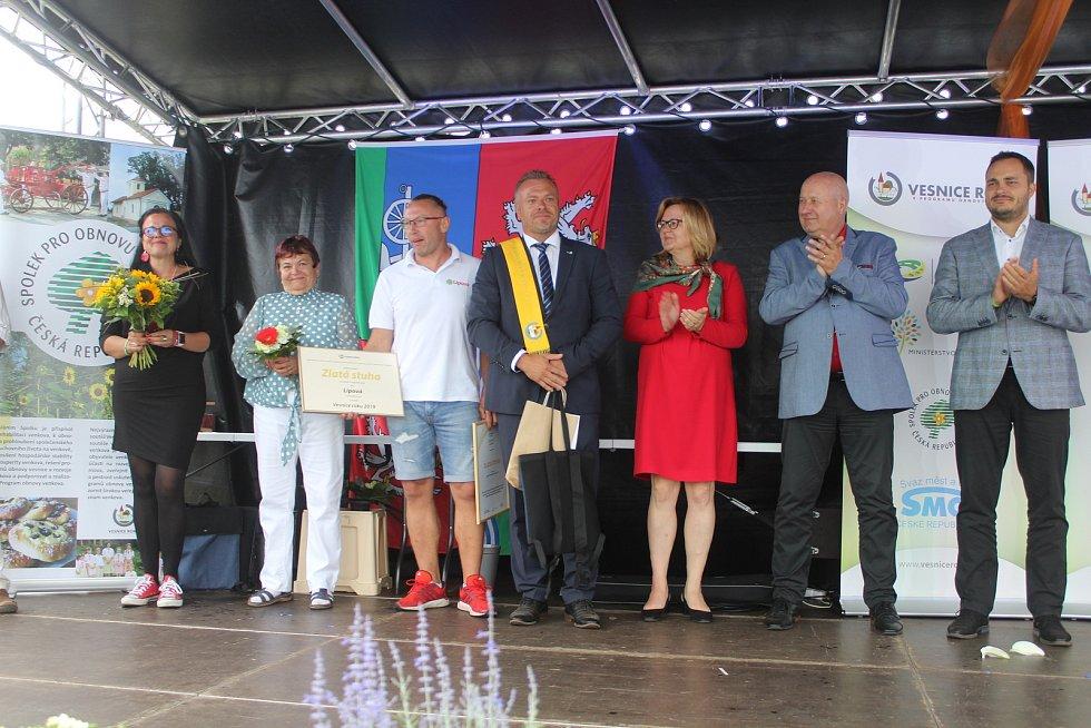 Předávání ocenění proběhlo v Lipové.