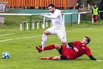 Filip Vait začal s fotbalem v Děčíně. Jeho barvy hájí i v roce 2021.