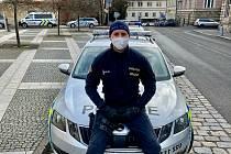 Nadpraporčník Petr Juřička z podmokelského oddělení policie.
