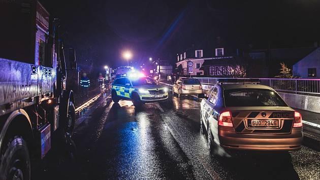 Dopravní nehoda, ilustrační fotografie.