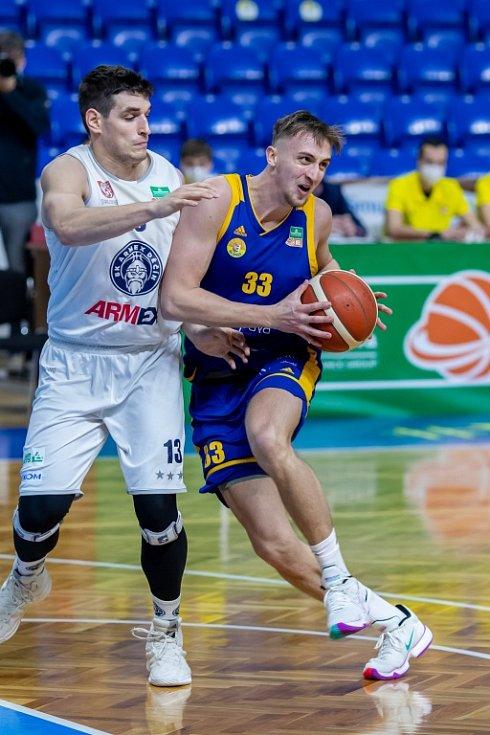 Děčín nestačil na Opavu a v lednu prohrál i druhé utkání.