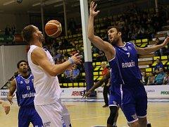 Basketbalový Děčín nestačil na slovinskou Rogašku.