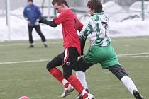Utkání skupiny B Heřmanov versusu Březiny.