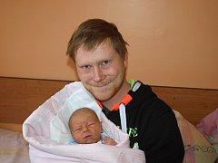 Martině Humrové z Rumburka se 20. ledna v 6.40 v rumburské porodnici narodil syn Mireček Novák. Měřil 50 cm a vážil 3,2 kg.