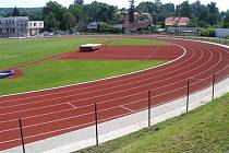 Fotbalový a atletický stadion Varnsdorf