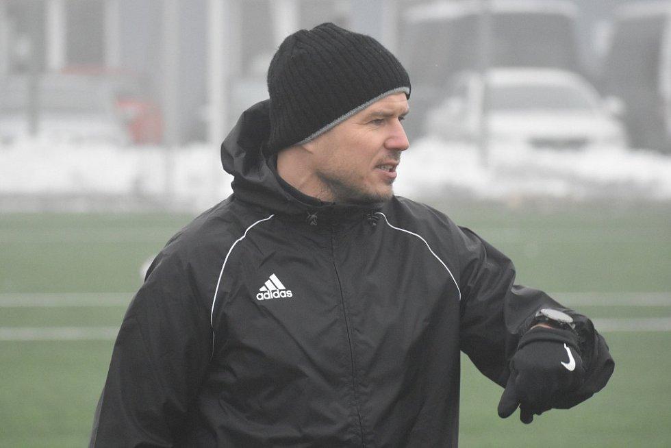 Martin Kotyza - asistent trenéra FK Varnsdorf Pavla Drska.