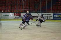 Hokejové mládeži HC Děčín se příliš nedařilo.