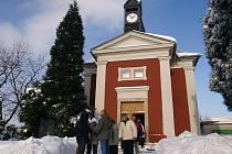 Vysvěcení kaple na Vlčí Hoře.