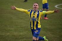 Fotbalisté Varnsdorfu doma udolali poslední Vyšehrad 1:0.