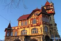 Dominanta Hrádku ve Varnsdorfu.