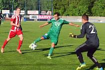 PARÁDA! Vilémov (v zeleném) doma porazil Srbice 4:0.
