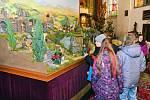 Výstava betlémů v mikulášovickém kostele.