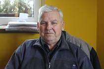 LADISLAV MICHALEC - vedoucí fotbalového klubu Jiskra Modrá.