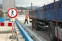 Největší uzavírka je na děčínském Novém mostě
