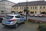 Zásah policie ve Varnsdorfu