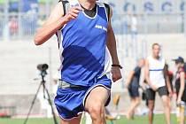 Jednou z opor ASK Děčín je běžec Jan Murín.