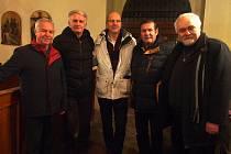 Svatoštěpánský koncert navštívili emeritní starostové.
