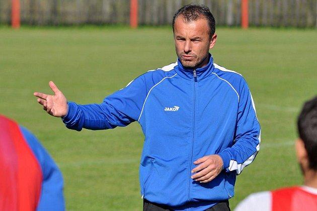 TRENÉR FK Varnsdorf Zdenko Frťala.