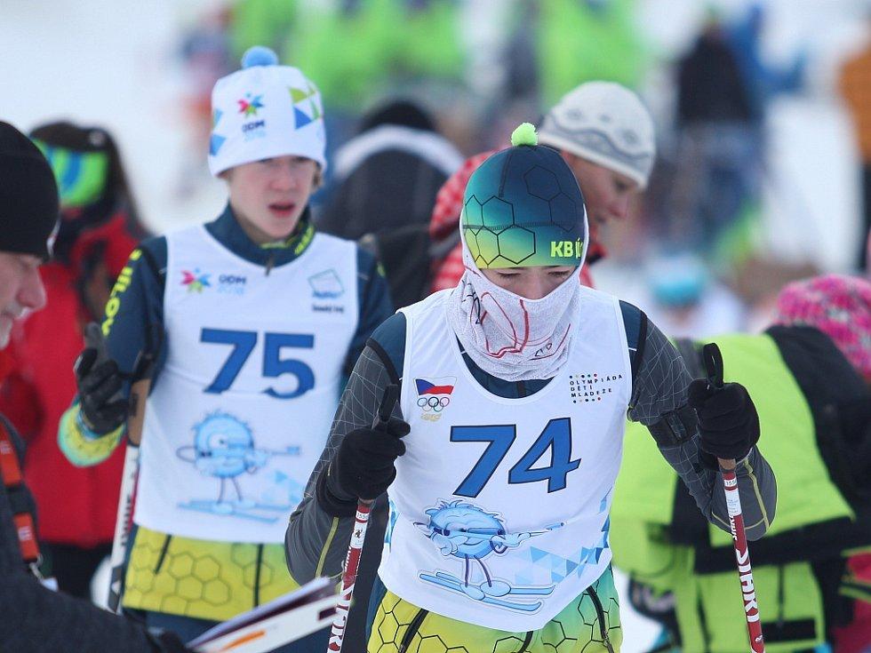 JÍLOVŠTÍ BIATLONISTÉ se na mládežnické olympiádě neprosadili.