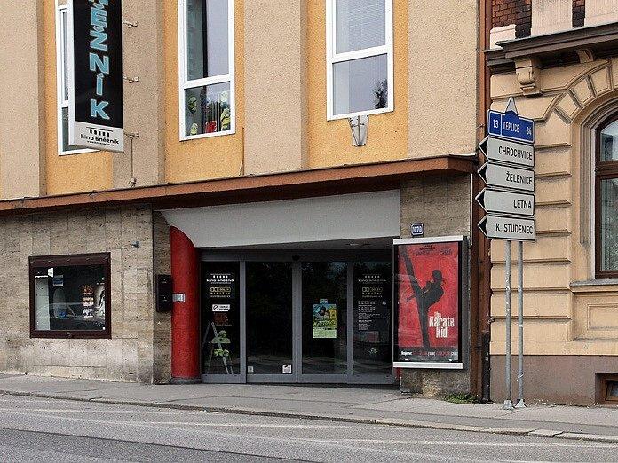 Kino Sněžník Děčín. Ilustrační foto.