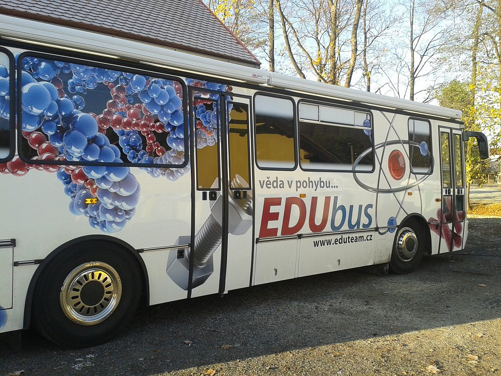 EDUbus dorazil na Šluknovsko.